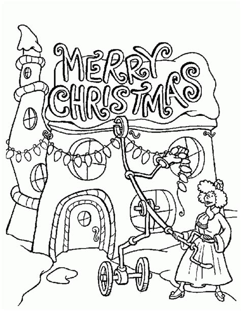 whoville coloring pages the grinch coloring page coloring home