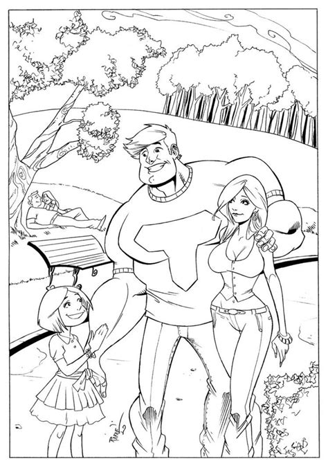 the coloring pages the thundermans coloring pages free coloring for 2018
