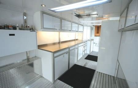 lightweight cabinets for trailers lightweight aluminum cabinets for enclosed trailers