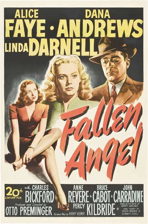 Fallen Angel Film | fallen angel movie posters from movie poster shop