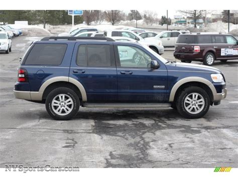 2008 Ford Explorer by 2008 Ford Explorer Eddie Bauer 4x4 In Blue Pearl