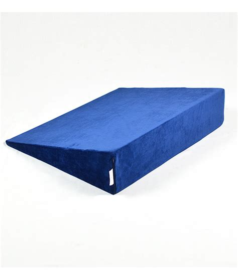 Futon Wedge by Bed Wedge Luxury Memory Foam With Soft Cover In