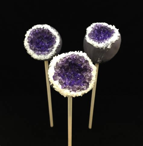 100 Cake Pops by Geode Cake Pops Free Tutorial