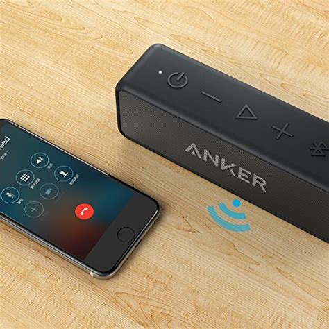 Anker Soundcore Bluetooth Speaker Dual Driver 24 Hours Playtime anker soundcore 2 portable wireless bluetooth speaker better bass 24 hour playtime 66ft