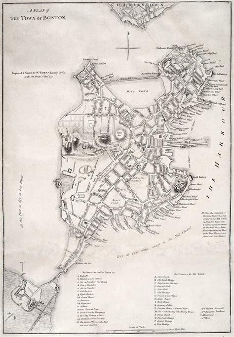 boston map 1776 american revolution boston map swimnova