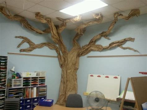 How Do You Make Paper From A Tree - image result for how to make a paper tree for classroom