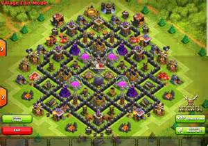 Clash of clans the prime th9 anti hog farming base with def log