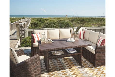 salceda 4 outdoor sectional set by furniture