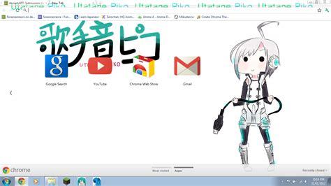 download theme google chrome vocaloid vocaloid utatane piko chrome theme dl by soraoraoraora on