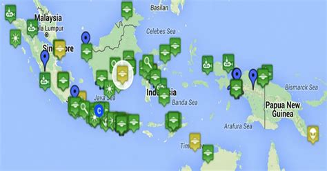 yang dilarang di indonesia ini wilayah di indonesia yang kerap dilintasi ufo