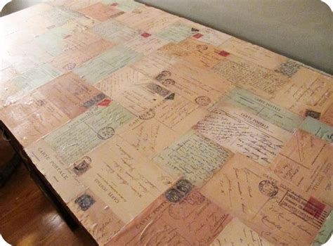 how do you decoupage wood best 25 decoupage table ideas on