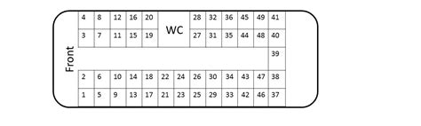coach seating seating plan berrys coaches