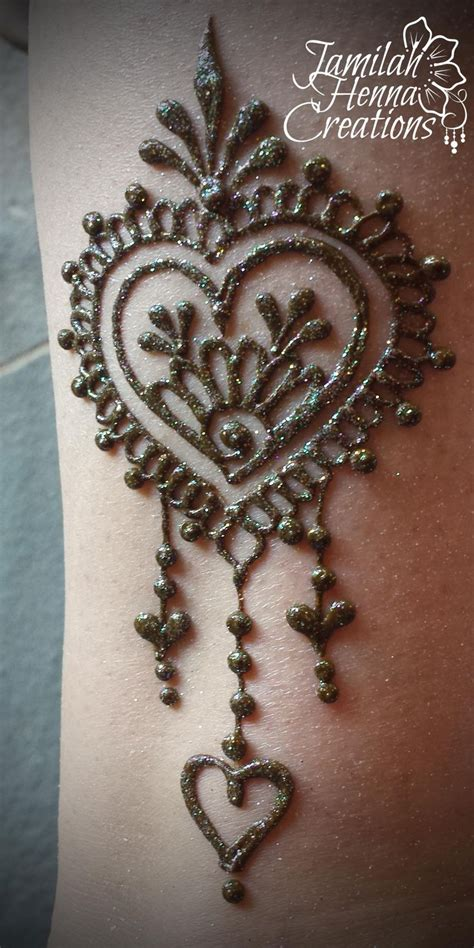 heart henna design www jamilahhennacreations com tattoos