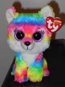 ty beanie boos river 6 quot multi color wolf wolf lodge exclusive cad 35 27