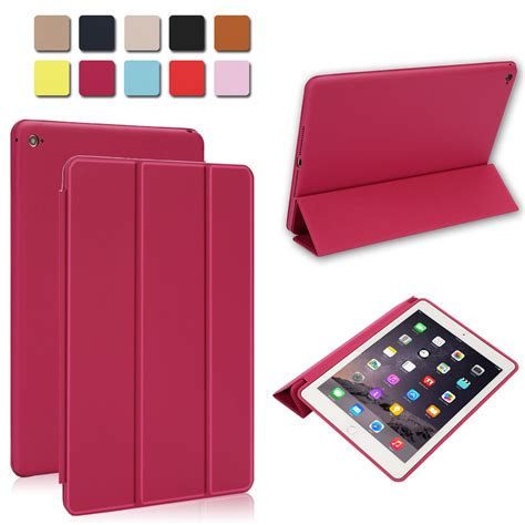 Mini 1 2 3 4 Apple Smart Oem Free Tempered Glass genuine magnetic smart leather cover for apple 2