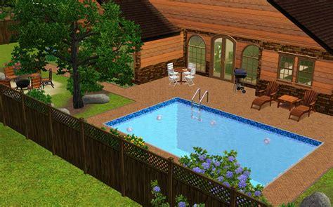 Sims 3 backyard ideas   Outdoor furniture Design and Ideas