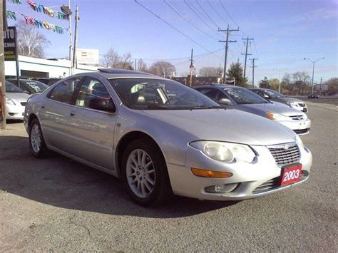2003 chrysler 300 for sale 2003 chrysler 300m leather roof scarborough ontario