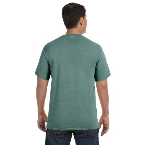 comfort colors green comfort colors men s light green 6 1 oz t shirt