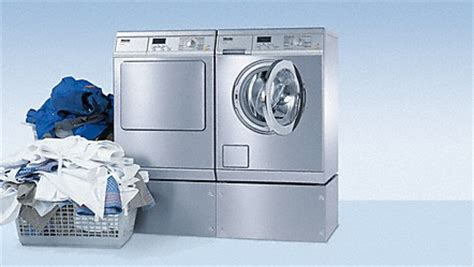 Waschmaschine Und Trockner Aufeinander 898 by Miele Professional Waschmaschinen Trockner Mangeln