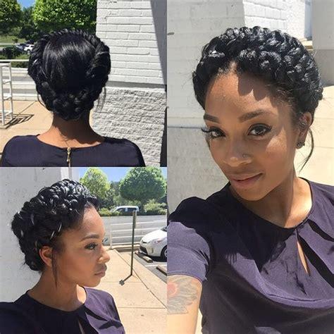 halo hair style halo braid fishtail atlantahairstylist atlantahair
