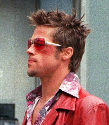 brad pitt hair shade fight club brad pitt fight club sunglasses