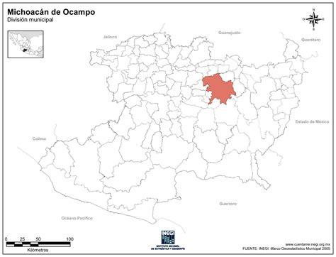 imagenes satelitales de zinapecuaro michoacan mapa de michoacan con division municipal psd by