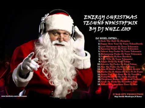 energy christmas techno nonstopmix by dj nhel 2014 youtube