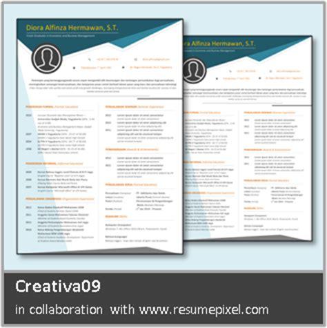 form cv yang menarik desain cv kreatif contoh cv bahasa inggris