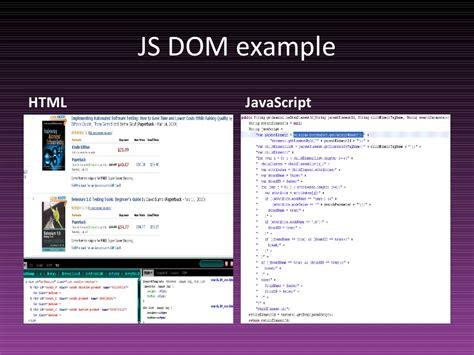 html design li js dom exle html javascript