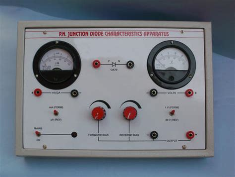 pn junction diode experiment pn junction diode charactristic apparatus h l scientific industries ambala id 2295008455