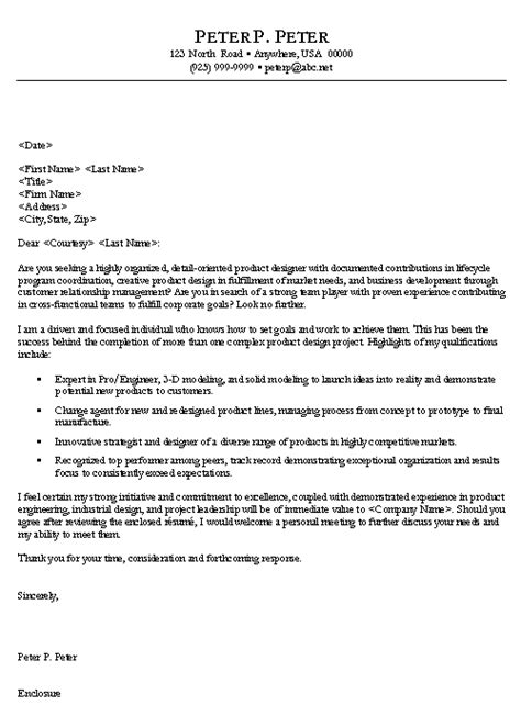 cover letter engineering exle engineer cover letter exle sle