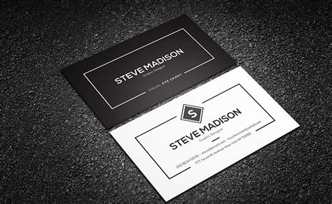 attractive business card templates 20 attractive free business card templates
