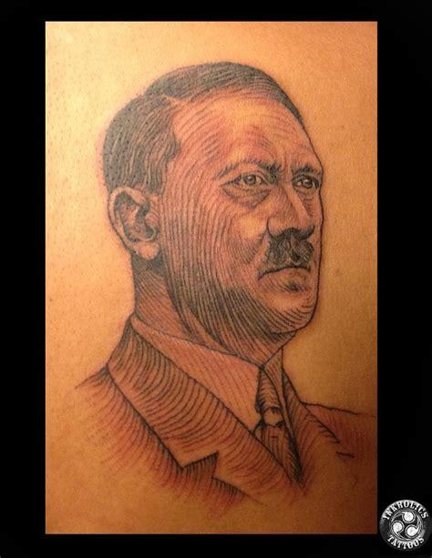 hitler tattoo portrait by ketology on deviantart