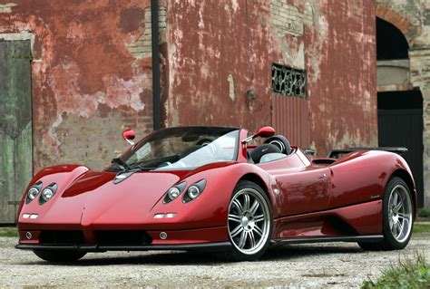 pagani zonfa world of cars pagani zonda cinque roadster