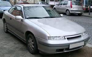 Calibra Vauxhall Vauxhall Calibra 1990 1998