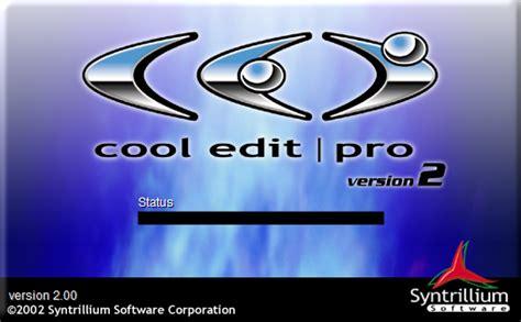 membuat iklan radio dengan cool edit cool edit pro 2 1 full with serial number inspirasi bermusiq