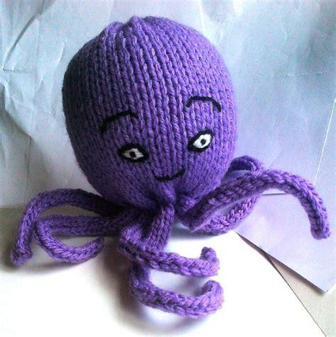 knitting pattern octopus chunky octopus knitting pattern by alice jones knitting