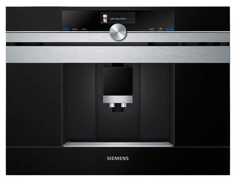 einbau kaffeeautomat siemens kaffeevollautomat iq700 ct636les6 einbauger 228 t