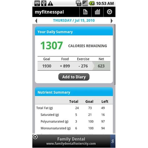 calorie counter app android best calorie counter android 28 images 10 best android diet apps and android nutrition apps