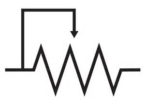 schematic symbol for variable resistor resistors