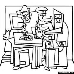 coloring book and the of pablo free coloring pages thecolor