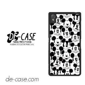 Casing For Sony Xperia Z3 Mickey Mouse Its Start With Mouse 0112 best black and white mickey mouse wallpaper products on wanelo