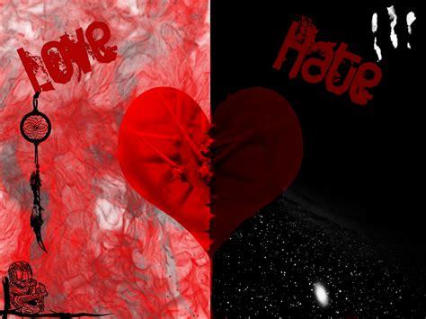 images of love vs hate love vs hate art www imgkid com the image kid has it