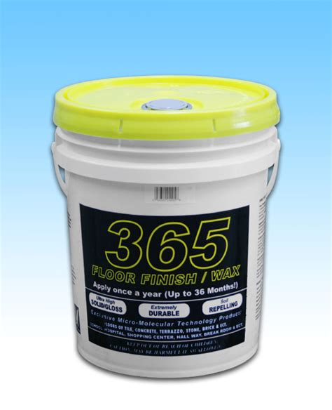 365 floor finish 5 gal pail janitorial supplies at janilink