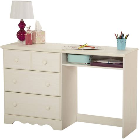 South Shore Smart Basics Small Desk Multiple Finishes Small Desk Walmart