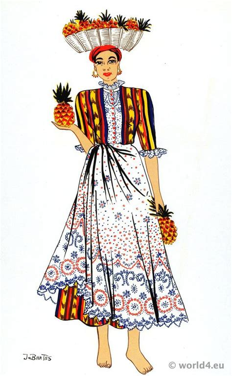 what clothes do venezuelans wear on christmas with fruits folk dress costume history