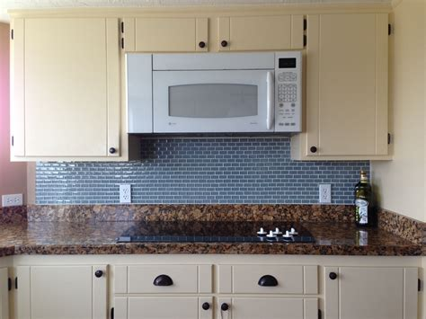 traditional frosted white glass subway tile