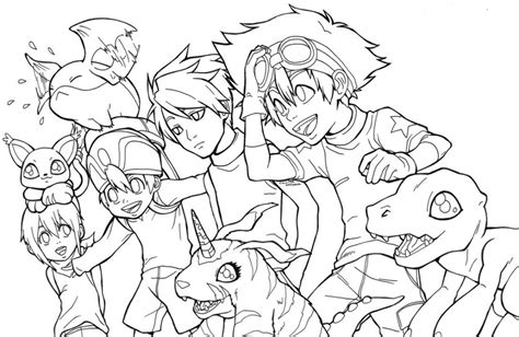 digimon monsters coloring pages free printable digimon coloring pages for kids