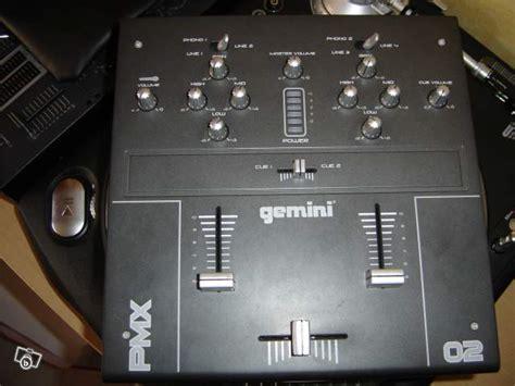 console dj gemini ipmx gemini dj ipmx audiofanzine