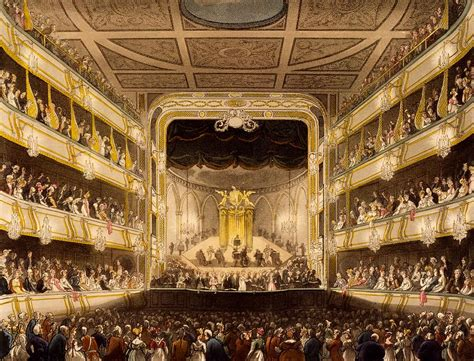 arts theatre covent garden covent garden theatre from microcosm drawing by t